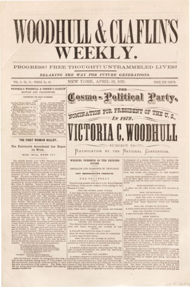 Woodhull & Claflin Weekly